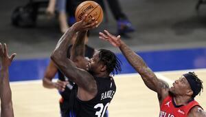 NBAde Gecenin Sonuçları: Knicksten üst üste 6. galibiyet