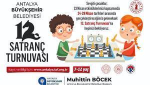 23 Nisanda çevrimiçi satranç turnuvası