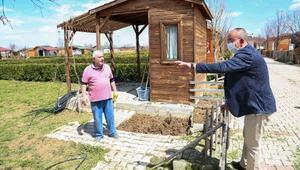 Meram Hobi bahçeleri sakinleri ekim sezonunu açtı