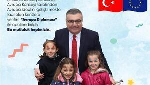 Avrupa Konseyi, Kırklareli Belediyesi'ni Avrupa Diploması ile ödüllendirdi