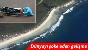 Pasifik adasında büyük panik... Kovid-19lu ceset kıyıya vurdu, ülke tamamen kapandı