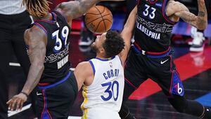 Curry yine coştu Furkanlı 76ers mağlup...