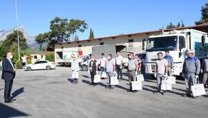 Konyaaltı Belediyesi personeline PCR testi ücretsiz