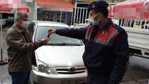 Jandarmanın bulduğu çalınan otomobil sahibine teslim edildi