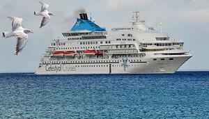 Cruise turu için uzak limanlara gitmeye gerek yok: Bu gemi yolcularını İstanbul'dan alacak