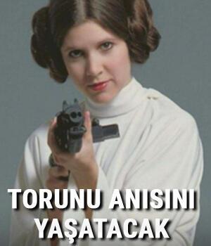 Star Warsun Leiasının anısını torunu yaşatacak