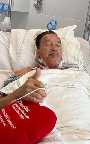 Terminator kalbinden operasyon geçirdi