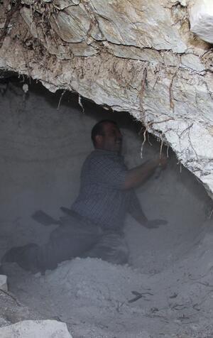 Lezzetin sırrı bu mağaranın toprağı