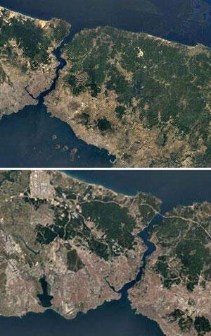 İşte İstanbulun değişimi