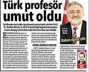Son dakika haberi: Önce aşı şimdi de korona ilacında Türk keşfi