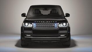 Range Rover'dan ilk zırhlı: Sentinel
