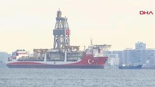 Kanuni sondaj gemisi İstanbul'da
