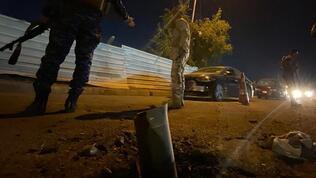 Irak'ta füze saldırısı düzenlendi