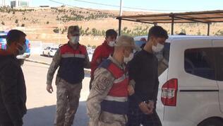 3 terörist sınırda patlayıcıyla yakalandı