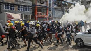 Myanmar'da çatışmalar şiddetlendi