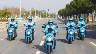 Motosikletlere canlı takip