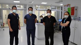 Sağlık çalışanları, Ramazan Bayramı'nda da görev başında