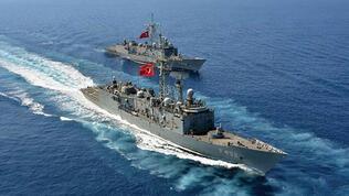 Türkiye'den Ege'de NAVTEX ilanı