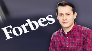 Forbes listesinde bir Türk! Sen ye çocuklar doysun...