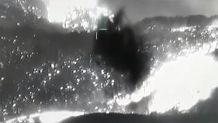 Yangına İHA sayesinde 'nokta atışı' müdahale