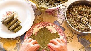Yaprak yaprak sarılan eşsiz yemeğimiz