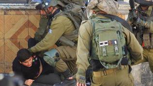 10 yaşındaki Filistinli çocuğa darp!