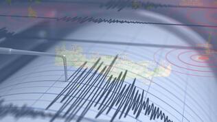 Girit'te 5 büyüklüğünde deprem