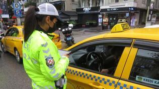 Taksicilere yönetim! Muayene ve sigorta cezası