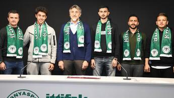 İsmail Kartal'ın oğlu Emre Kartal Konyaspor'a transfer oldu