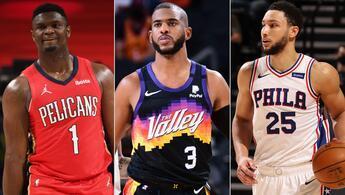 NBA All-Star maçının yedekleri duyuruldu