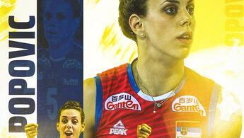 Fenerbahçe Opet Kadın Voleybol Takımı, Mina Popovic'i kadrosuna kattı