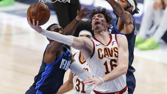 NBA'de Gecenin Sonuçları: Cleveland, Dallas'a kaybetti, Cedi'den 22 sayı