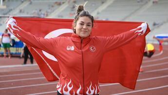 Eşref Apak ve Özlem Becerek, Avrupa Atmalar Kupası'nda altın madalya kazandı