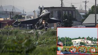 Tayvandan dünyayı şoke eden tatbikat: Savaş jetlerini otoyola indirdiler