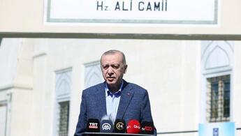 Cumhurbaşkanı Erdoğandan ABDye tepki: 2 NATO ülkesi olarak farklı noktada olmamız gerekirdi