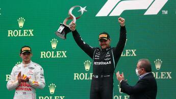 Son dakika: Formula 1 Türkiye GPsinde zafer Bottasın Pilotlar şampiyonasında zirve değişti