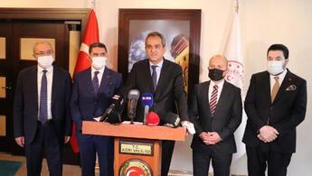 Milli Eğitim Bakanı Mahmut Özerden yüz yüze eğitim açıklaması