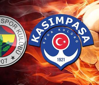 Fenerbahçe Kasımpaşa maçı ne zaman, saat kaçta?