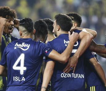 SON DAKİKA   Fenerbahçe - Kasımpaşa: 3-2