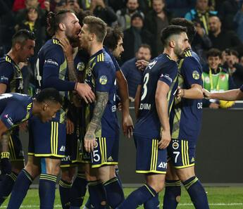 Fenerbahçe'den gol resitali!