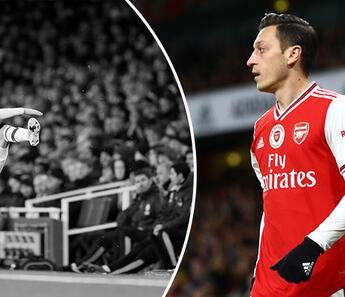 Mesut Özil deliye döndü! Hiç böyle görmediniz...