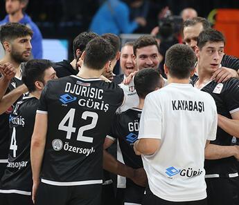 Beşiktaş, Anadolu Efes'i uzatmada devirdi!