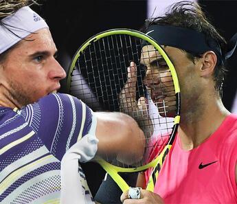 Rafael Nadal, 4 saat sonunda Thiem'e boyun eğdi