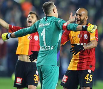 Galatasaray'da dev derbi primi!