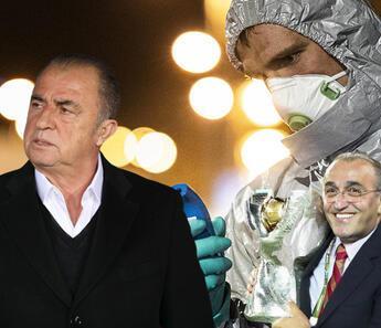 Corona virüs kaynağı farklı mı? Galatasaray Teknik Direktörü Fatih Terim ve Abdurrahim Albayrak...