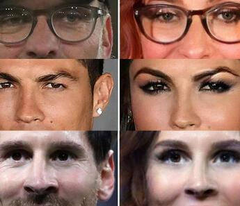 İşte Dünyaca ünlü futbolcuların kadın halleri!