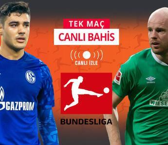 Schalke kötü gidişe Bremen karşısında dur diyebilecek mi? iddaa'da galibiyetlerine...