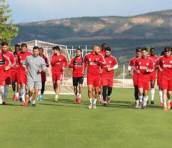 Sivasspor'da Denizlispor maçı hazırlıkları sürüyor