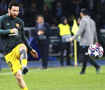 Messi'den antrenmanda klas gol!