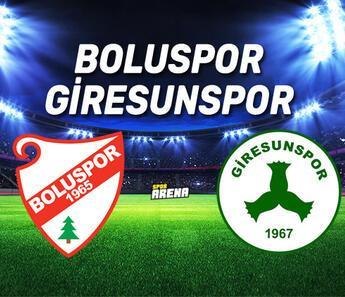 Giresunspor Boluspor maçı hangi kanalda, saat kaçta canlı yayınlanacak?